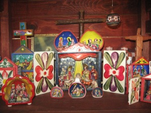 Peruvian and Mexican managers (retablos) 009