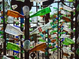 not exactly the bottle tree of our dreams