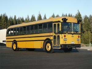 1950s school bus